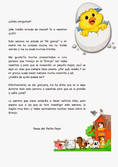Proyecto el pollito clases de 5 a os del ceip gonzalo - Clases manualidades madrid ...