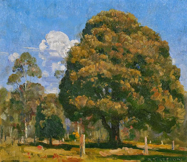 Arthur Streeton - Blackwood and Noonday Sky (1932)
