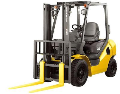 Xe nang komatsu Diesel Forklift