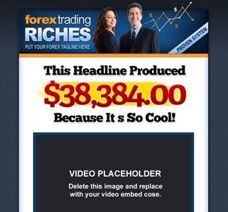 Sales Page | Forex Trading Riches