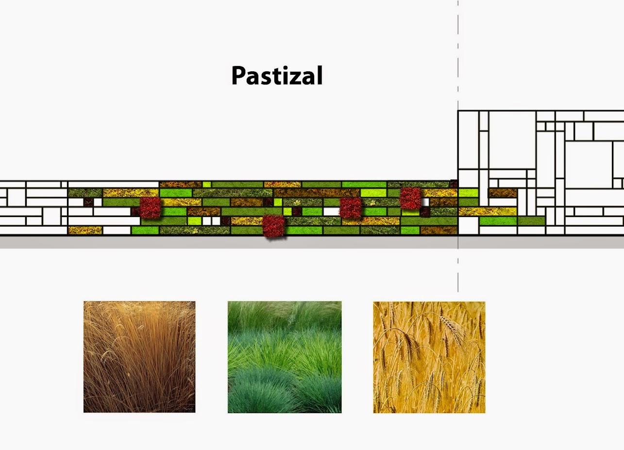 Diseño de muro verde en México