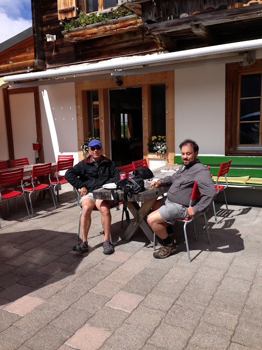 morning break at the lodge complex at Oescheinensee