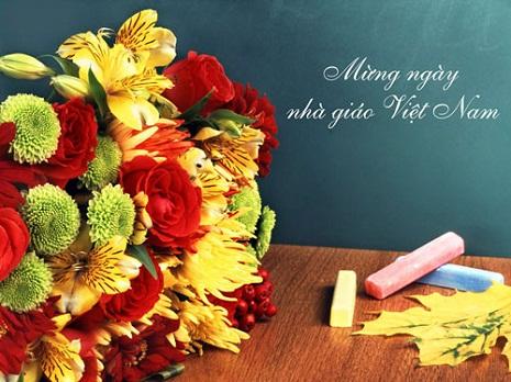 Bộ ảnh thiệp đẹp chúc mừng thầy cô giáo (20-11)