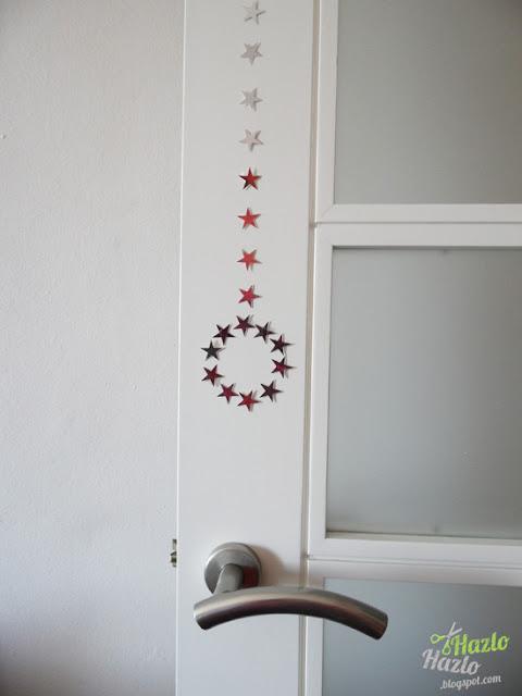 Cómo decorar las puertas en Navidad.