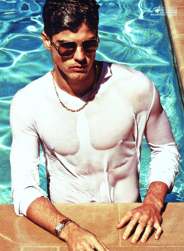 Evandro Soldati by Enrique Badulescu, Styled by Sean Spellman, GQ China, July 2011
