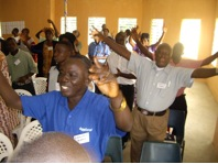 Sierra Leone Preaching Training: Worship Time