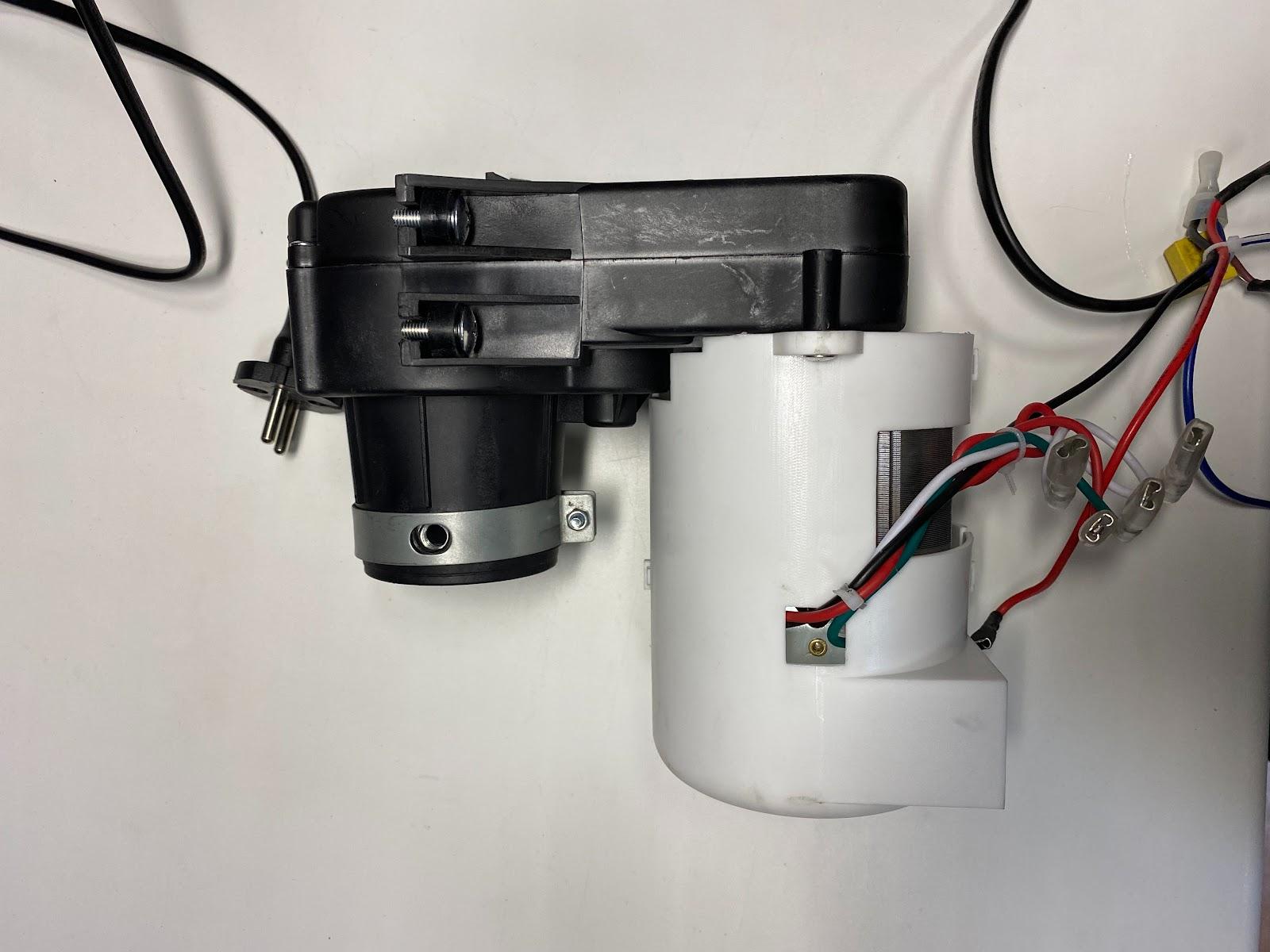 Мясорубка  Wollmer M901 редуктор и мотор