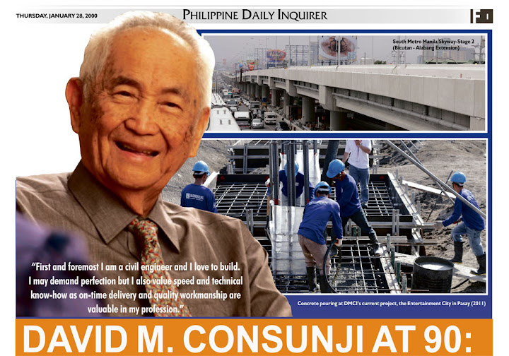 David Consunji- Filipino Billionaire