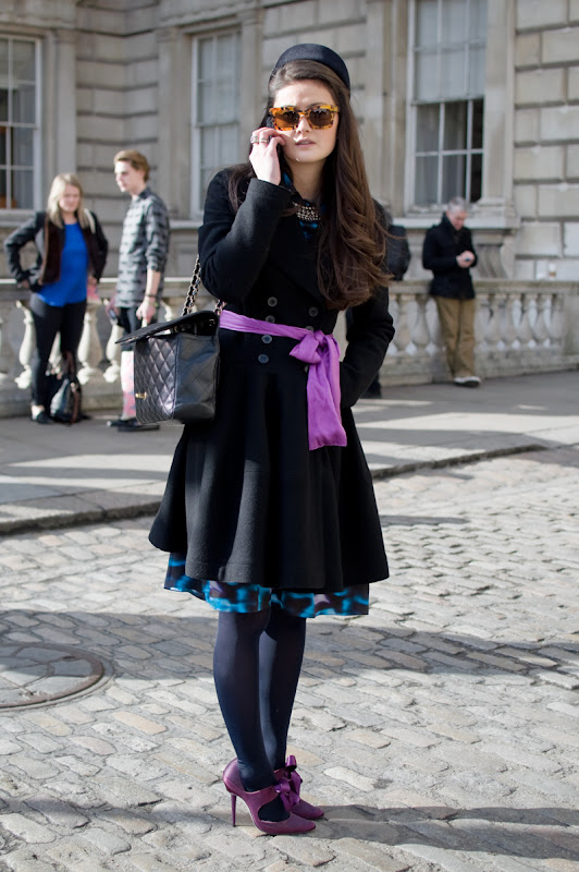 Peony Lim at London Fashion Week