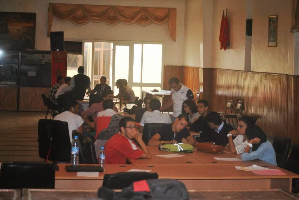 بلاغ صحفي  إنعقاد المؤتمر العام للمجلس المحلي للشباب بالجديدة