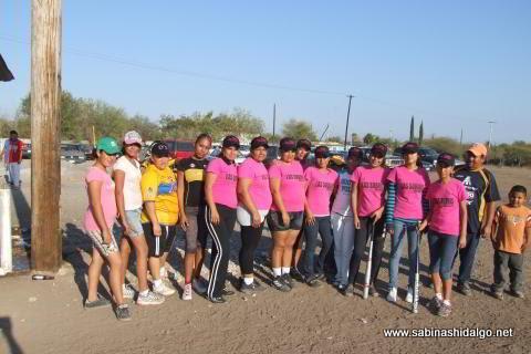 Equipo Subiris del softbol femenil