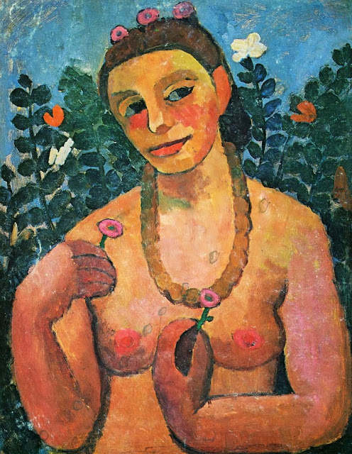 Paula Modersohn-Becker - Self-Portrait,1906