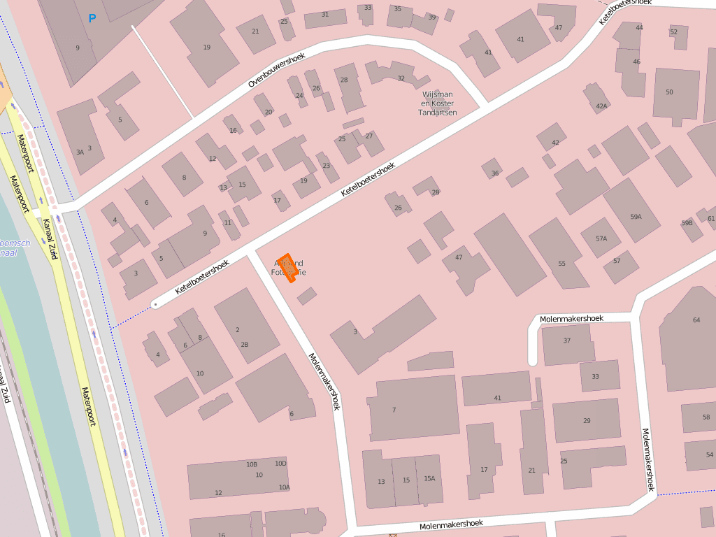 MAtenhoek op OpenStreetMap (OSM)