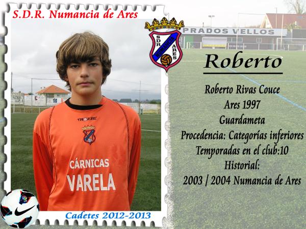ADR Numancia de Ares. Roberto.