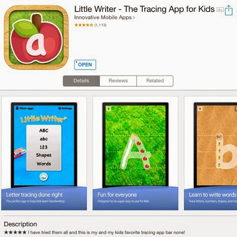 Letter Tracing Apps.Free Tracing Apps For Ipad Iphone Breezy Special Ed