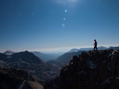 Avantcim, i al fons la Vall Fosca