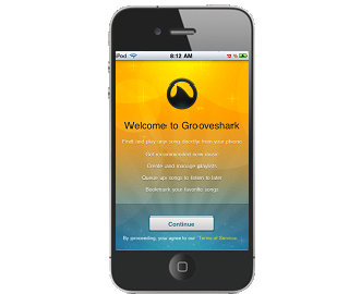 callinfofields Grooveshark DEB 2.0.1 Free iPhone iPod Touch