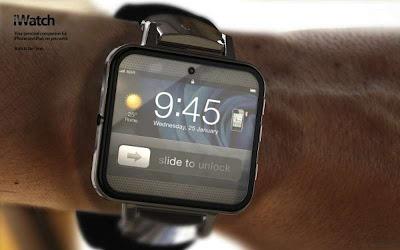iWatch, un concepto de cómo sería un reloj de pulsera de Apple