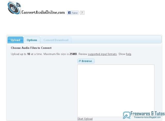 ConvertAudioOnline.com : un service en ligne de conversion de fichiers audio