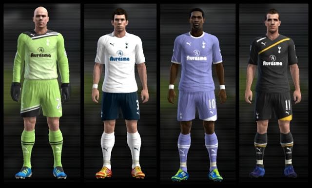 Tottenham 11-12 Kitset - PES 2012