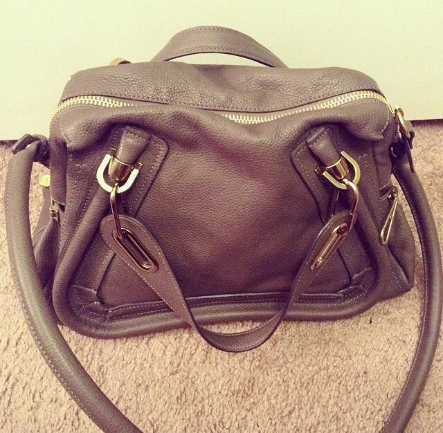 Chlo¨¦ \u0026#39;Medium Paraty\u0026#39; Leather Satchel, Rock - ? My Lovely ...