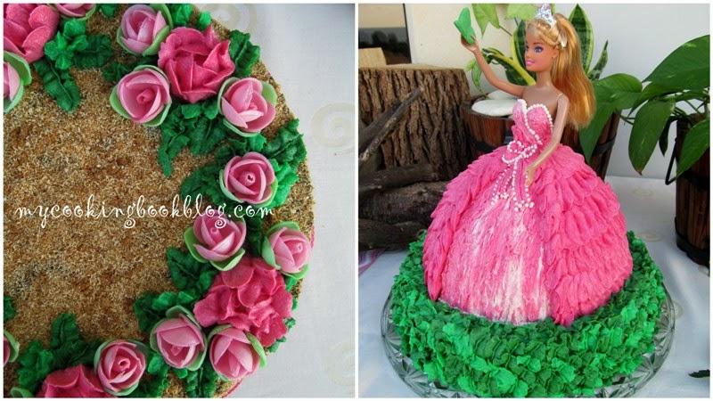 Как да оформите торта кукла или друга 3 D торта от Медовик