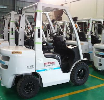 Xe nâng Nissan Unicarriers 2.5 tấn