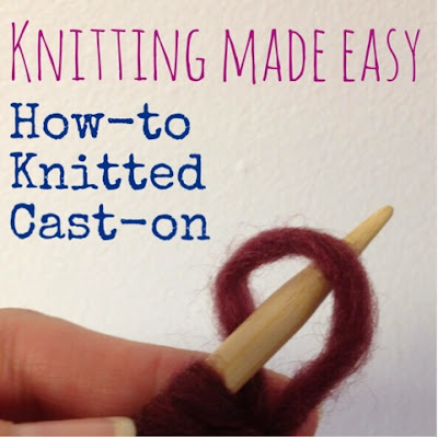 How-To Knitted Cast On