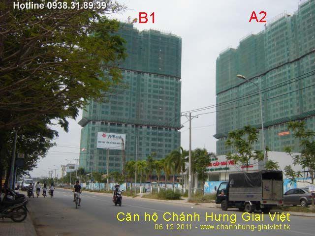 Chào bán Căn hộ Chánh Hưng Giai Việt giá 16 triệu/ m2