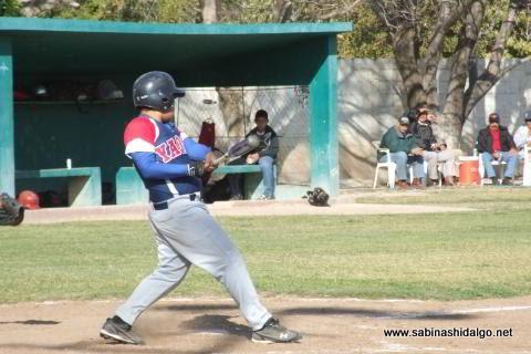Leonardo Garza Gómez de Yaquis en el beisbol municipal