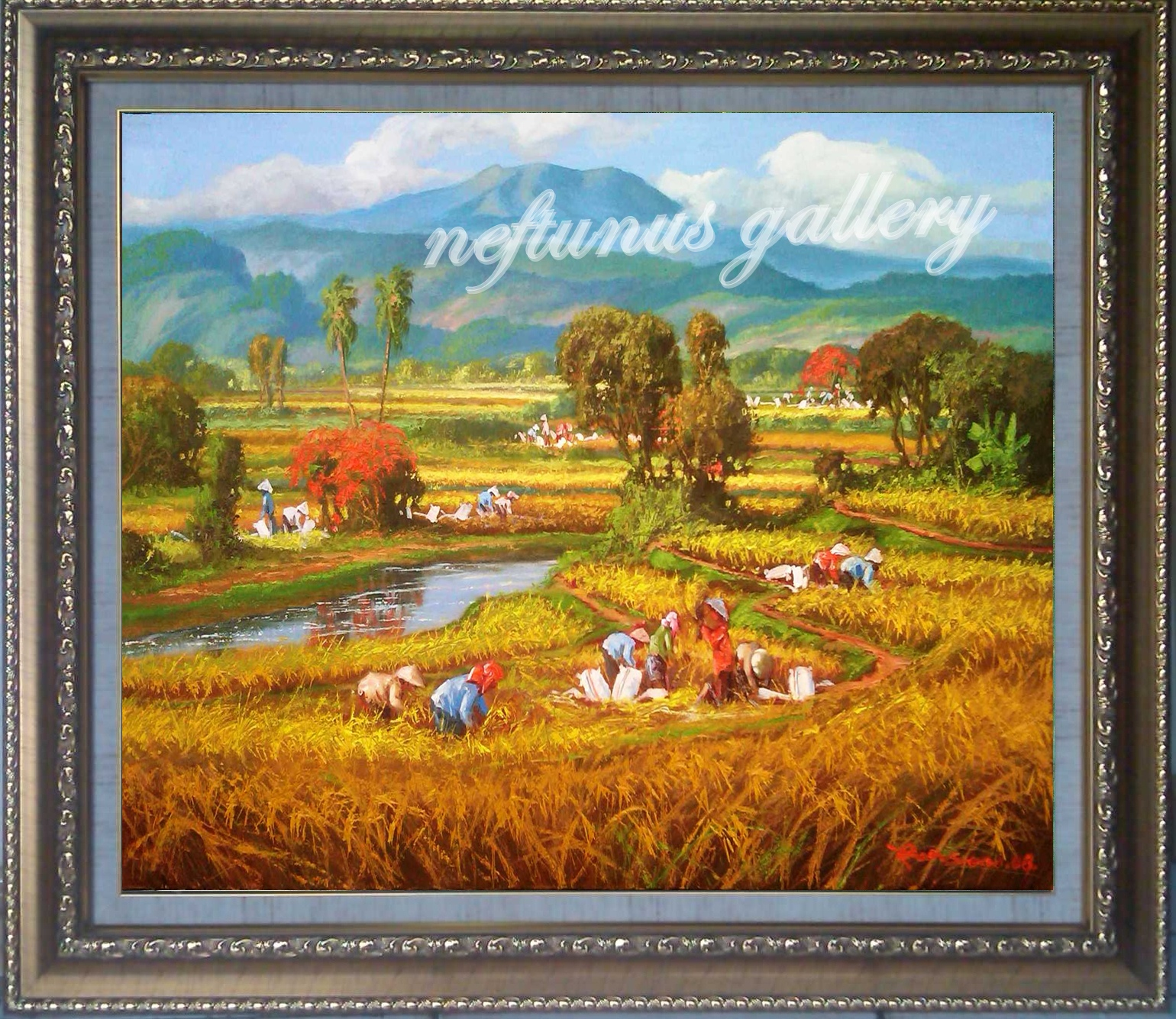 karya parsono 60x90cm,oil on canvas 2008 (SOLD OUT)