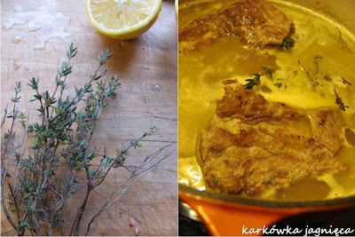 Karkówka jagnięca z cytryną i słowo o olejach