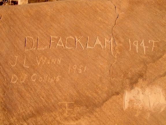 D.L. Facklam 1947, J.L. Winn, D.J. Collins, 1951