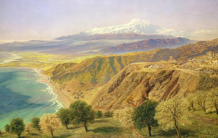 John Edward Brett - Sicily - Taormina