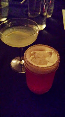 Morgan St Theater Pairing: Kah-pow! Black pepper ice cream, plum soda, salted honey rim