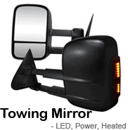 Towing Mirrors, LED mirrors