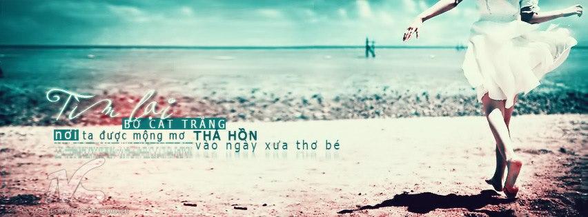 Ảnh bìa bờ biển cát trắng