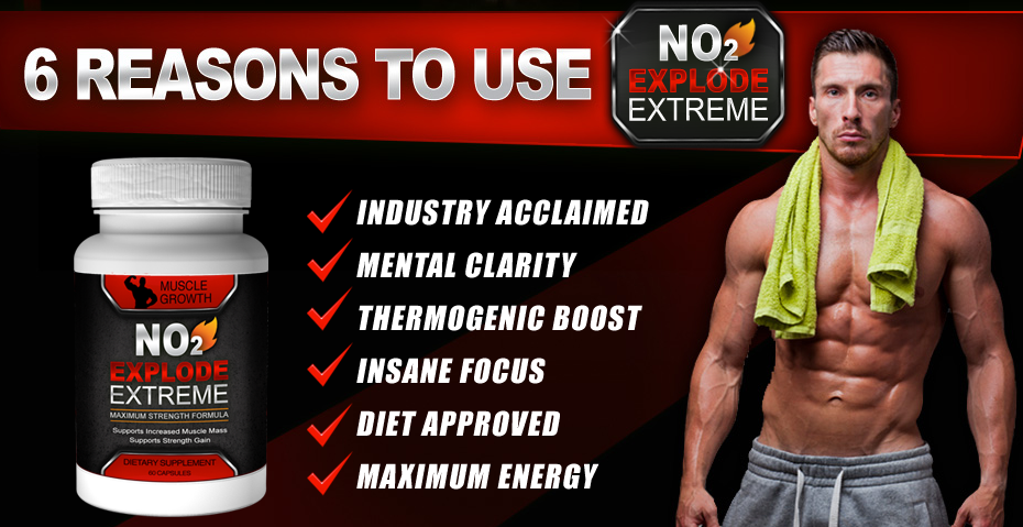 advantage of no2 explode extreme