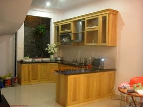 Tủ bếp gỗ tự nhiên BESM0114