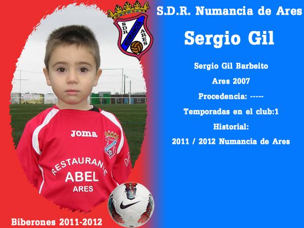 A. D. R. Numancia de Ares. Biberones 2011-2012. Sergio Gil