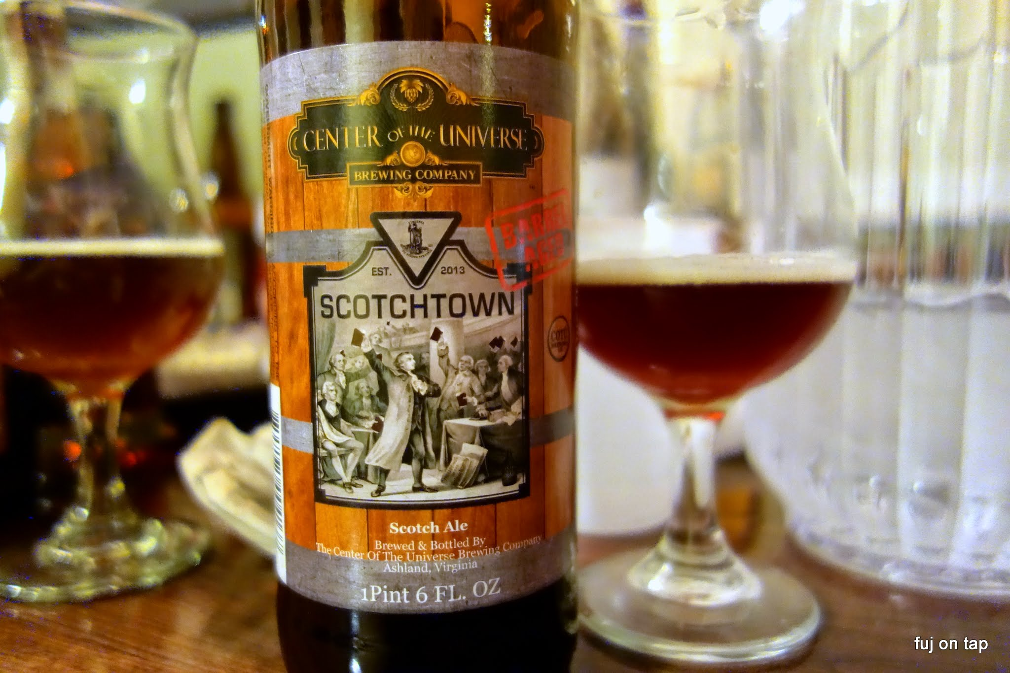 Center of the Universe Barrel Aged Scotchtown