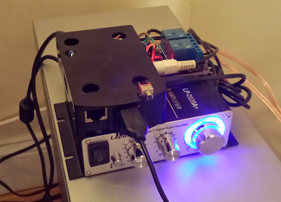 Openelec kodi - Out Door Speaker w/ remote On / Off