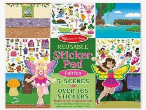Sách sticker Vương quốc hoa tiên ME8603