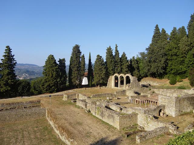 Termas romanas, Fiesole