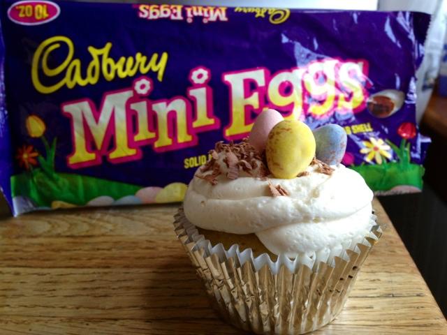 Greek Easter cupcakes!