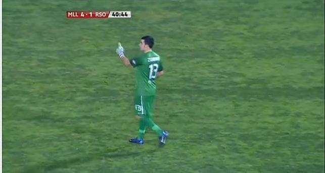 Goalkeeper Error (Funny Video)