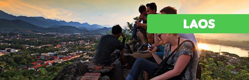 Mt.Phousi, Luang Prabang, Laos