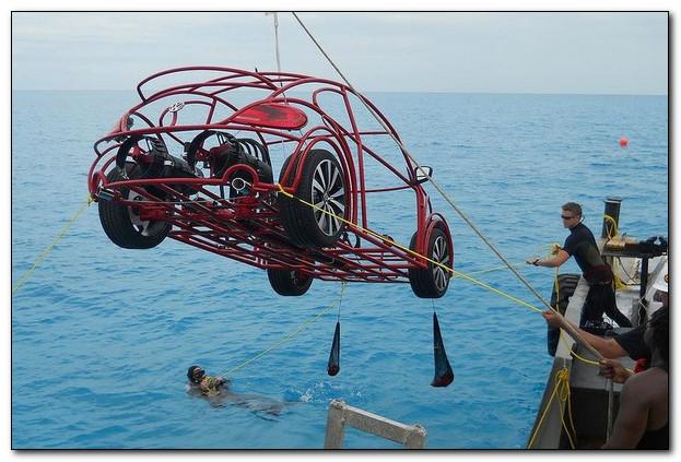 Жук - первый подводный автомобиль