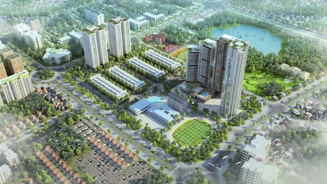 Phối cảnh dự án Mon City Mỹ Đình