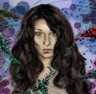 arctia Marzena Ostrowska Anna Grabowska Rysunek portret